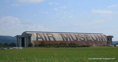 Hanger B, the Tillamook Air Museum
