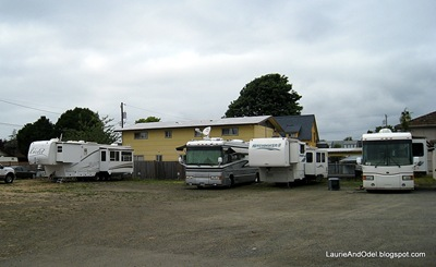 6 narrow sites at Hoquiam WA Elks Lodge