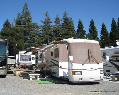 Site 2 Napa Elks RV parking