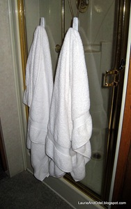 "Damp towels, about to cause an ""incident"""
