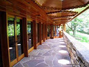 Porch at Kentuck Knob