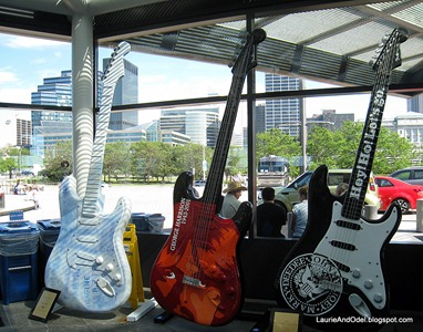 Big guitars, with Cleveland out the window.