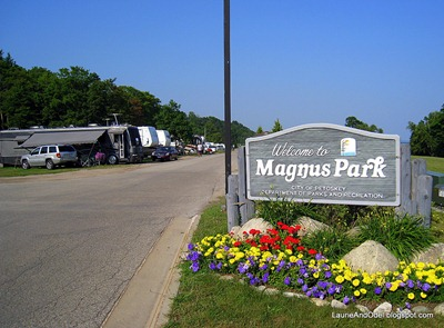 Entrance to Magnus Park