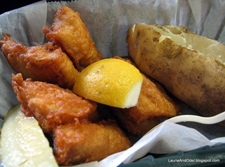 Fried Whitefish Dinner
