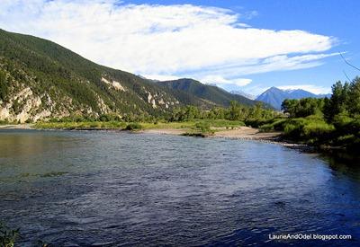 Yellowstone River at Rock Canyon