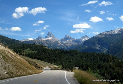 West side of the Tetons, on the road to Grand Targhee.