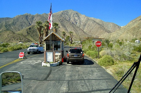 I followed Odel into the Anza-Borrego State Park Campground