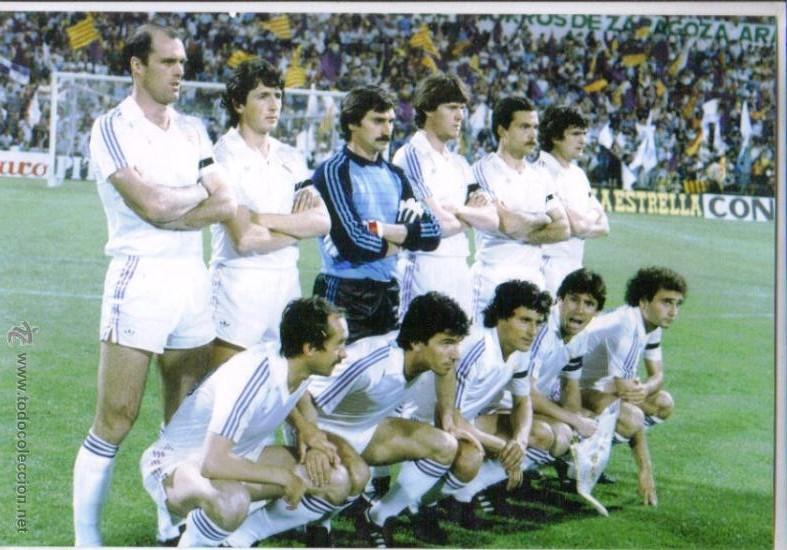 -: REAL MADRID 1982/83