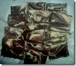 Lempeng Cokelat Marmer