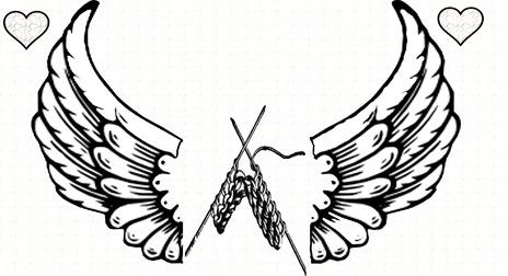 knitters angel heart