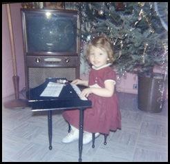 Debra's first piano