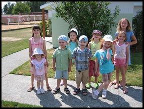 kids ready for camping season