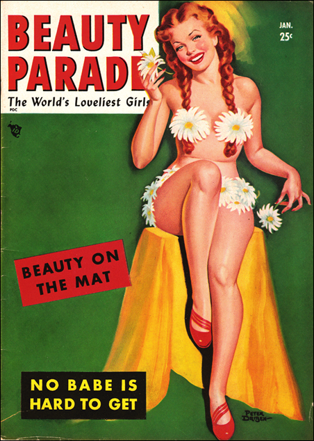 Beauty Parade, January 1950