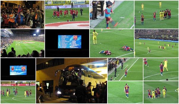 Villarreal - Barça  2 Abril 2011