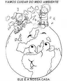 Dibujos Para Colorear Del D  A Mundial Del Medio Ambiente