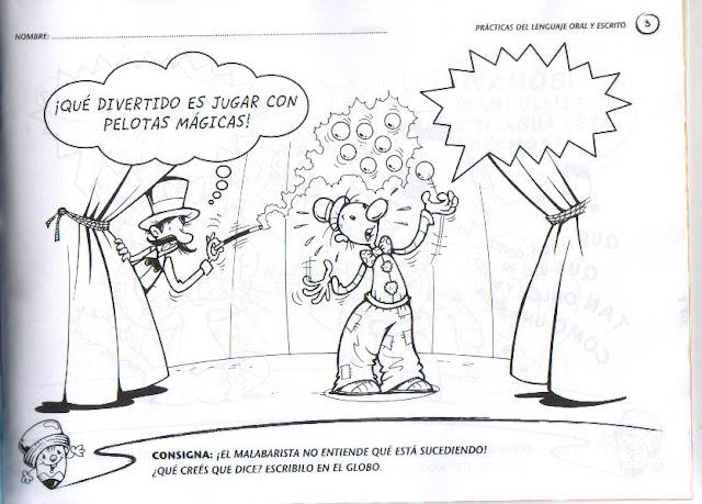 EJERCICIOS DE LENGUAJE ORAL Y ESCRITO