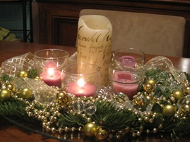 120809 advent candles close-up