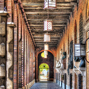 by Гојко Галић - Buildings & Architecture Architectural Detail ( arch. hall, old, gateway, brick, stone, gate )