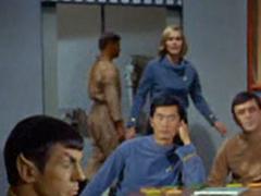 Spock, #7, Sulu, Dehner, Scott