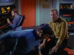 #43, Spock, Kirk, Brent