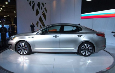 Sedan Kia Optima Magentis 2011 in New York 2