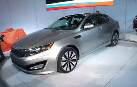 Sedan Kia Optima Magentis 2011 in New York 3