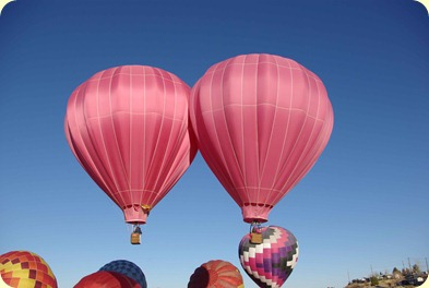twin balloons