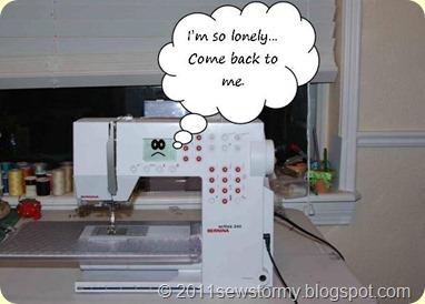sewing machine, Bernina, Activa