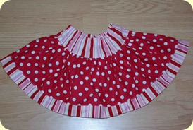 Samantha's Dot Skirt
