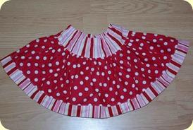 Samantha's Dot Skirt