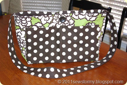 Dot and Flower Purse (2)