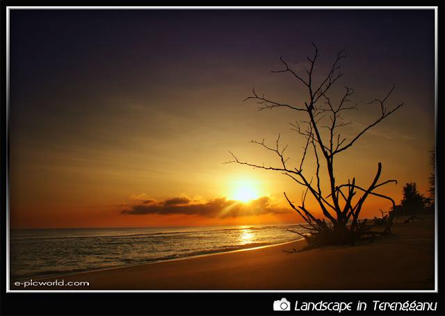 sunrise at lembah bidong picture