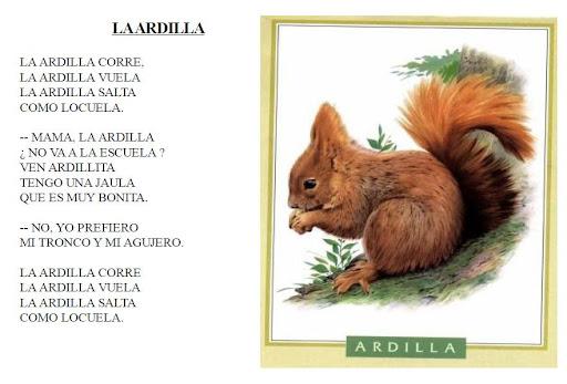 Poemas cortos para niños de primaria para imprimir - Imagui