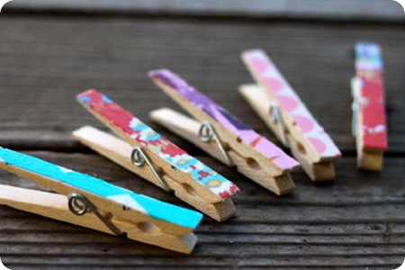 12 10 10 fabric clothespins