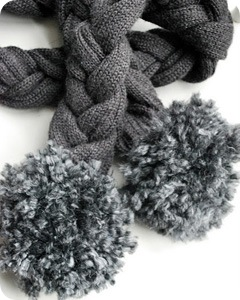 1 22 11 Braided Sweater Scarf 2
