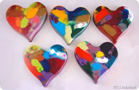 2 12 11 heart crayons