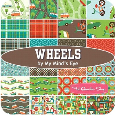 wheels by riley blake