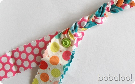 4 26 11 bobaloo fabric bracelet end snap