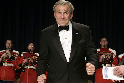 Bush Jr:- We really miss this Comedian in White House...