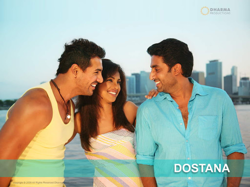 Dostana: Official Wallpapers, Screen Saver And Songs
