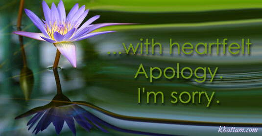 sOrry :: meaninGfull carDs.......repost