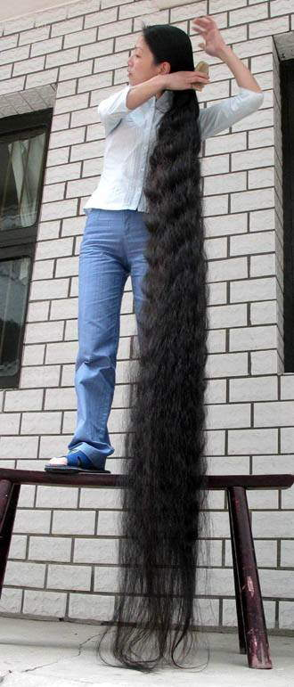 Longest Female Hair