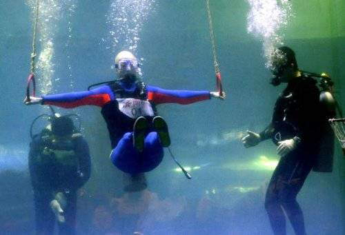 Underwater Olympic Games in Qingdao China