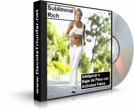 Adelgazar con actividad f sica subliminal rich audio cd for Deportes para adelgazar