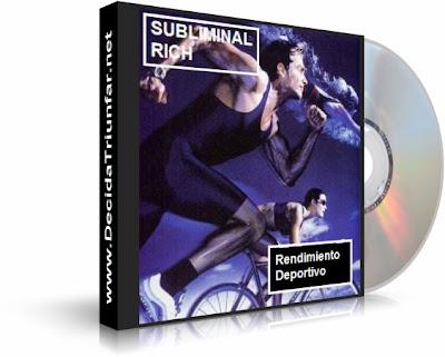 RENDIMIENTO DEPORTIVO, Subliminal Rich [ Audio CD ] – Audio subliminal para aumentar el rendimiento personal en el deporte.