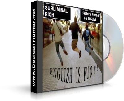 HABLAR Y PENSAR EN INGLÉS, Subliminal Rich [ Audio CD ] – Audio subliminal que te ayudará a pensar en inglés.