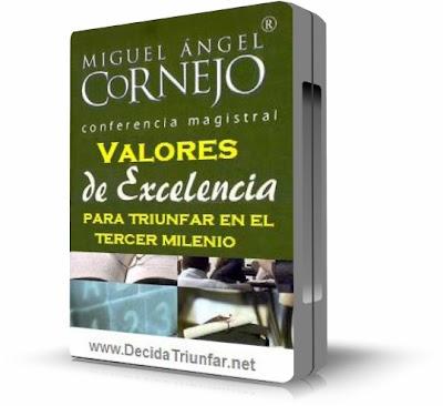 VALORES DE EXCELENCIA PARA TRIUNFAR EN EL TERCER MILENIO, Miguel Angel Cornejo
