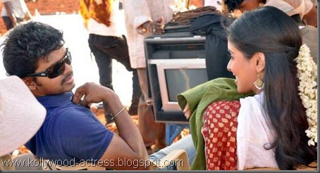3Vijay's Kavalkaran on location