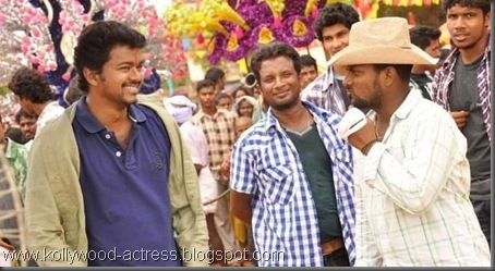 5Vijay's Kavalkaran on location