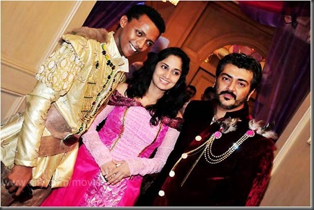 Sidney With ajith,shalini